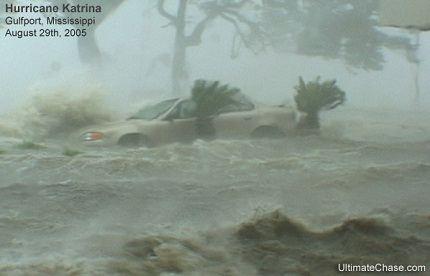 Катрина - самый сильный ураган в Америке