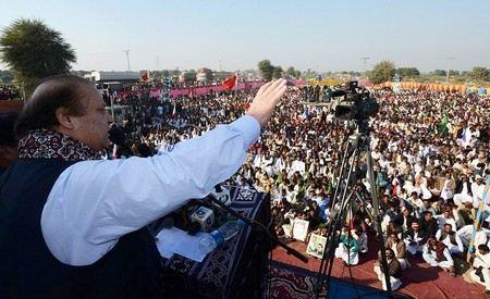 Наваз Шариф в третий раз избран премьер-министром Пакистана.