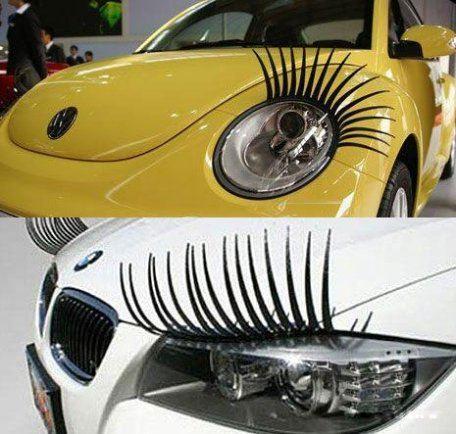 Писк женской автомоды - накладные ресницы 3д