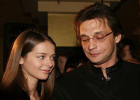 Александр Домогаров и Марина Александрова
