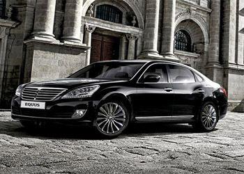Hyundai показала в Москве обновленный Equus
