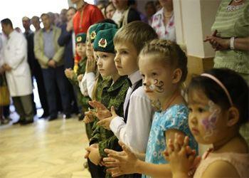 Состоялось открытие Центра реабилитации детей в поселке Воскресенское