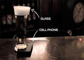 В Бразилии создали уникальный «офлайн-стакан»