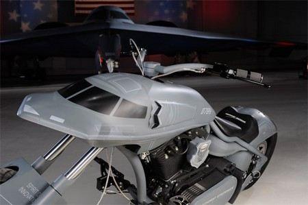 На вооружение американской армии может поступить мотоцикл-невидимка