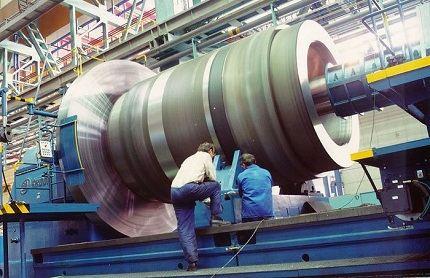 Работа на Ижорском заводе