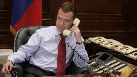 Американские агенты пытались прослушивать телефон Медведева.