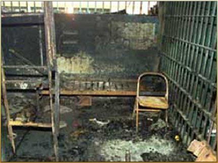Камера в тюрьме в Диярбакыре