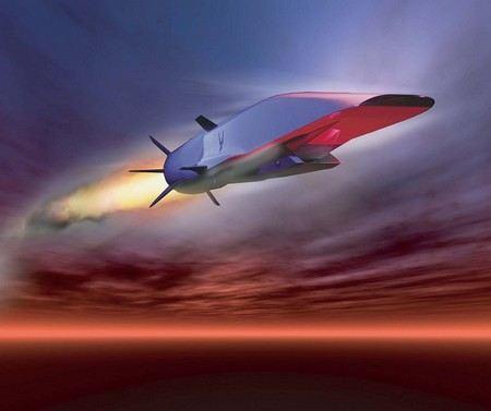 Сверхзвуковая ракета