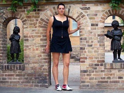 Самые высокие девушки в мира
