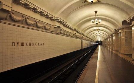 В Санкт-Петербурге на 1,5 года закроют станцию метро «Пушкинская».