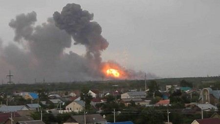 Из-за взрывов на полигоне под Самарой погиб один человек, еще 34 ранены