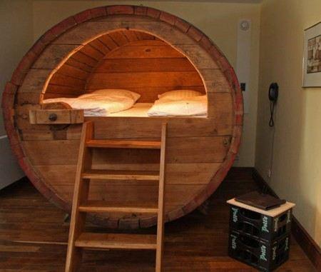 Бочка-спальня