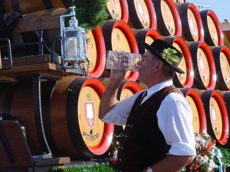 В Германии пиво - национальный напиток