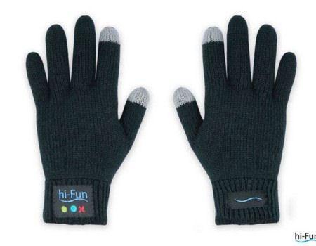 На вид обычные перчатки