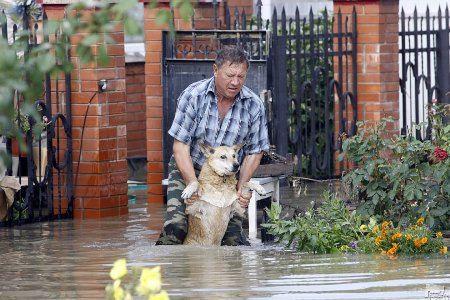 Фото наводнения в Крымске