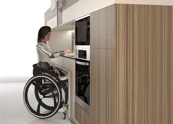 Российские дизайнеры изобрели уникальную кухню для инвалидов