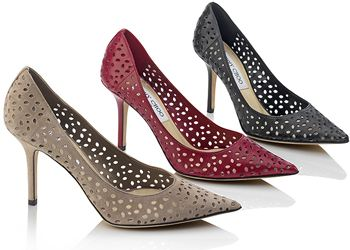 Jimmy Choo представил коллекцию праздничной обуви pre-fall 2013
