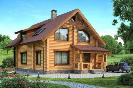 Россияне выбирают строительство домов из дерева