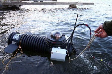 Подводная лодка Джастина Бекермана