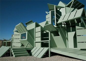Майкл Янцен создал уникальный дом