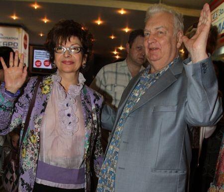 Роксана Бабаян с мужем Михаилом Державиным
