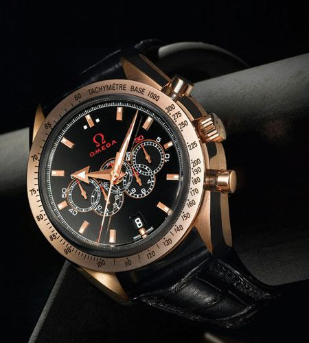 Omega выпустила эту эксклюзивную модель часов в честь Олимпийских игр 2008