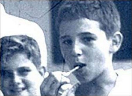 Fidel Castro in childhood