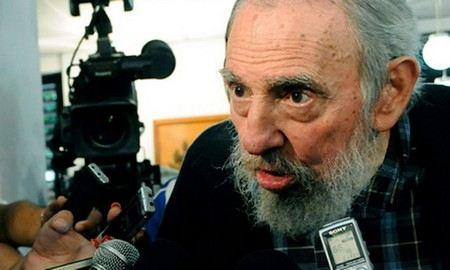 Fidel Castro now rarely appears in public.