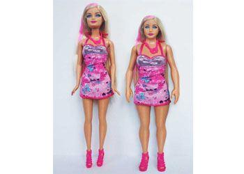 Дизайнеры создали Барби с пропорциями среднестатистической американки