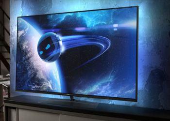 Технология подсветки Ambilight XL создает мягкое свечение вокруг телевизора