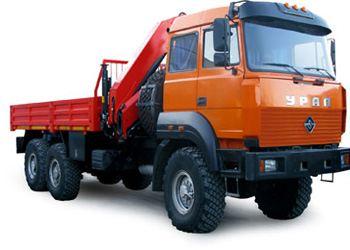 В Екатеринбурге автозавод «Урал» на выставке международного класса показал свою новинку спецтехники