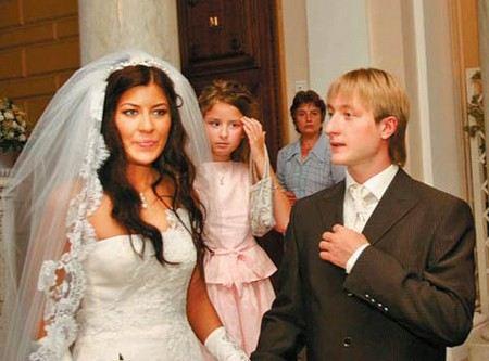 Евгений Плющенко с первой женой