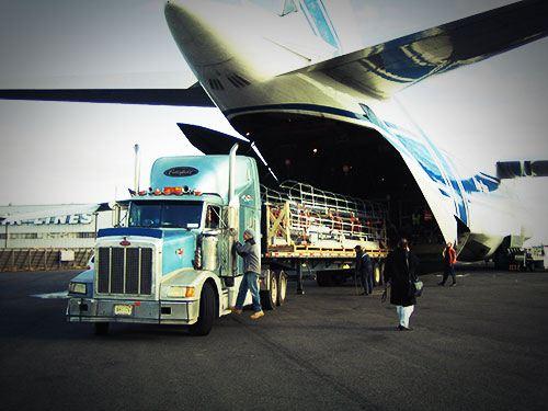 Один из самых быстрых способов доставки грузов за океан - грузовые авиаперевозки