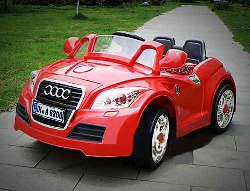 Детский электромобиль марки Audi, стилизация