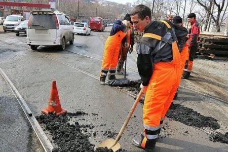 Ямы в Томске исчезают