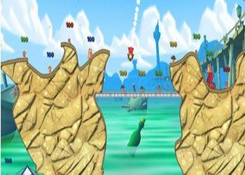 Игра Worms 3 выходит эксклюзивно для iOS