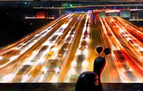 Мультфильм Турбо рассказывает об улитке, мечтающей о скоростях и гонках