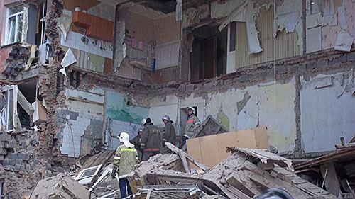 Обрушение дома в Барнауле произошло днем 18 июля