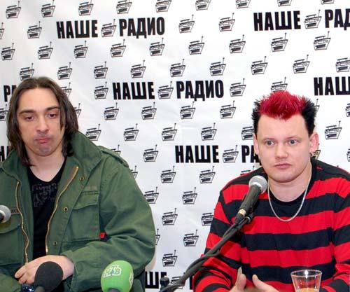 Михаил Горшенев и Андрей Князев, основатели группы «Король и Шут»