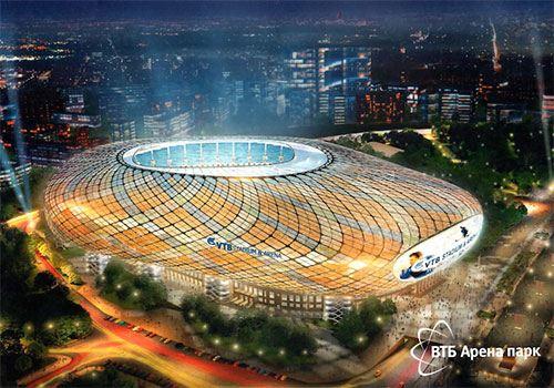 Таким будет домашний стадион Динамо после реконструкции (Петровский парк, Москва)