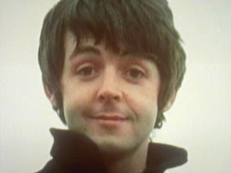 Paul McCartney in his youth