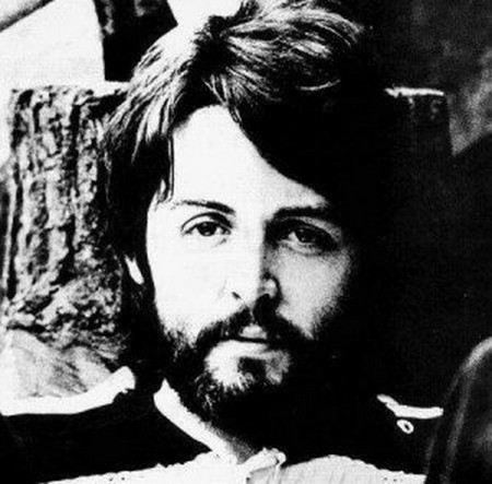 Paul McCartney with a beard