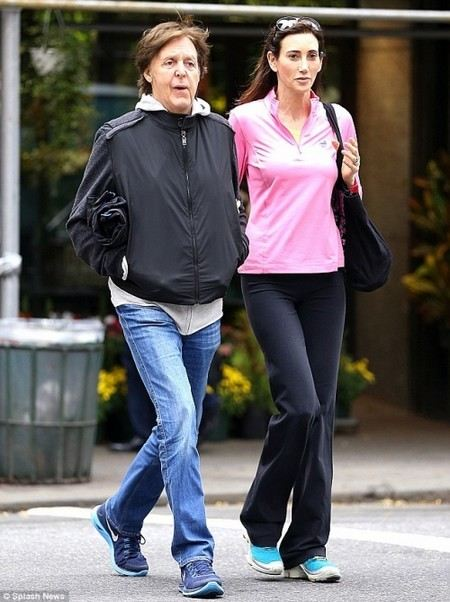 Paul McCartney and his wife
