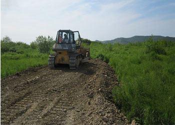 Строители приступили к реконструкции аэропорта «Палана»