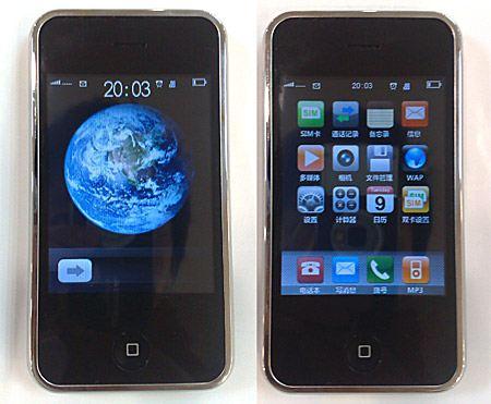 Самый популярный случай некачественного товара из Китая - поддельный iPhone
