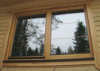 Деревянные окна считаются экологически чистыми