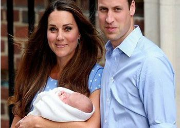 Ребенка Кейт Миддлтон назвали Джорджем