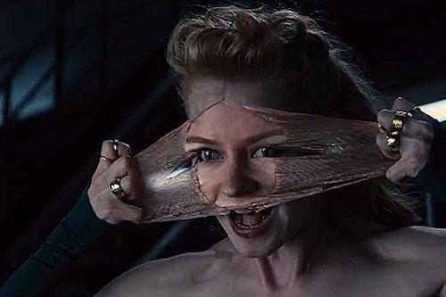 Svetlana Khodchenkova in the frame of the new film about Wolverine