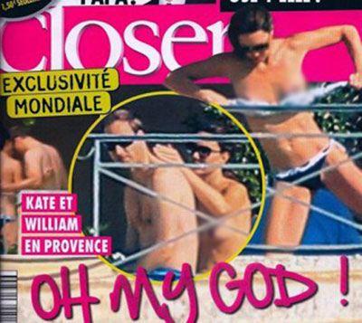 Снимки полуобнаженной Кейт Миддлтон были опубликованы в сентябре 2012 года