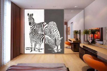 Мебель с пескоструйным рисунком - украшение интерьера